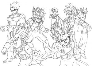 Dragon Ball Z Coloring Pages - Dragon Ball Coloring Pages Nice Fein Dragon Ball Z Kai Ausmalbilder 10r