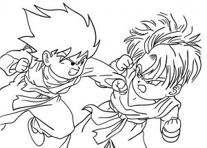 Dragon Ball Z Coloring Pages - Dbz Coloring Pages Goku Dragon Ball Coloring Pages Fabulous Dragon Ball Z Coloring Pages New 14k