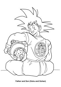 Dragon Ball Z Coloring Pages - All Dragon Ball Z Coloring Pages Bing 4t