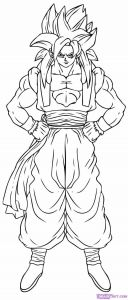 Dragon Ball Z Coloring Pages - Coloring Pages Dragon Ball Z to Print Goku Super Saiyan Letras Dbz Broly Colouring Pages 18a
