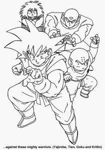 Dragon Ball Z Coloring Pages - Coloriage Dragon Ball Z Joli 18unique Dragon Ball Z Coloring Book Clip Arts & Coloring Pages 13g