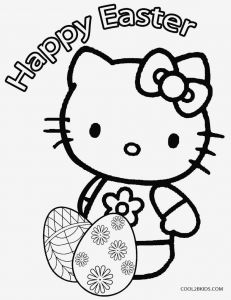 Easter Egg Coloring Pages for toddlers - Hello Kitty Coloring Page Coloring & Activity Printable Coloring Page Easter 20 Hello Kitty Eggs Pages 9f