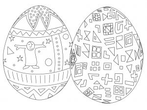 Easter Egg Coloring Pages for toddlers - Best Coloring Pages Free Easter Egg Coloring Pages 3r