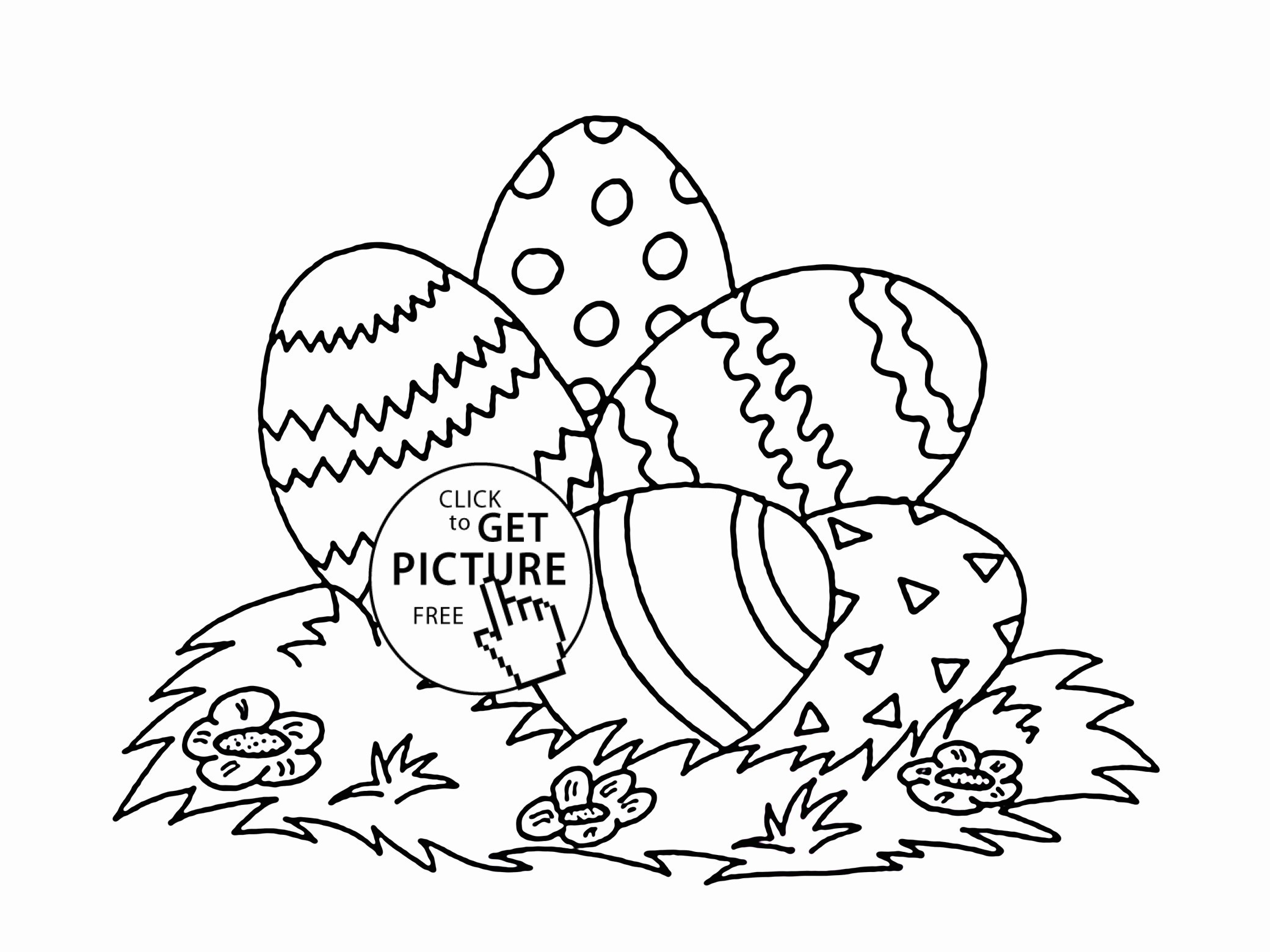 19 Easter Egg Coloring Pages for toddlers Collection ...