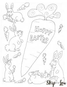 Easter Free Coloring Pages Printable - Free Printable Bunnies Coloring Page for Easter Perfect for the Children S Table 3m