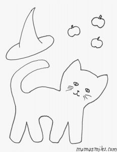 Easy Halloween Coloring Pages - Halloween Coloring Sheets Printable 2018 Free Printable Halloween Coloring Pages New Cat Coloring Pages Free New 4j