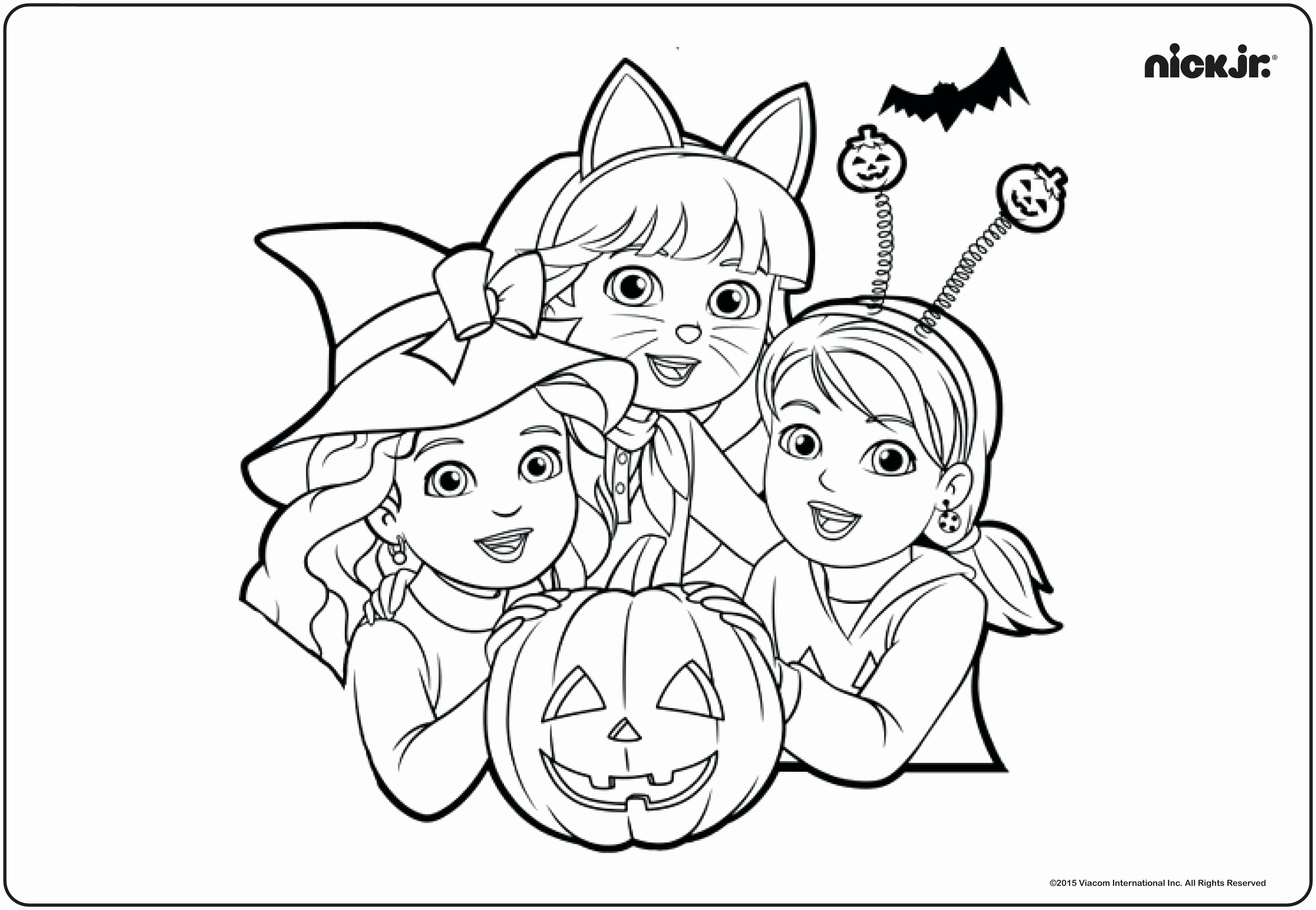 20 Easy Halloween Coloring Pages Collection - Coloring Sheets