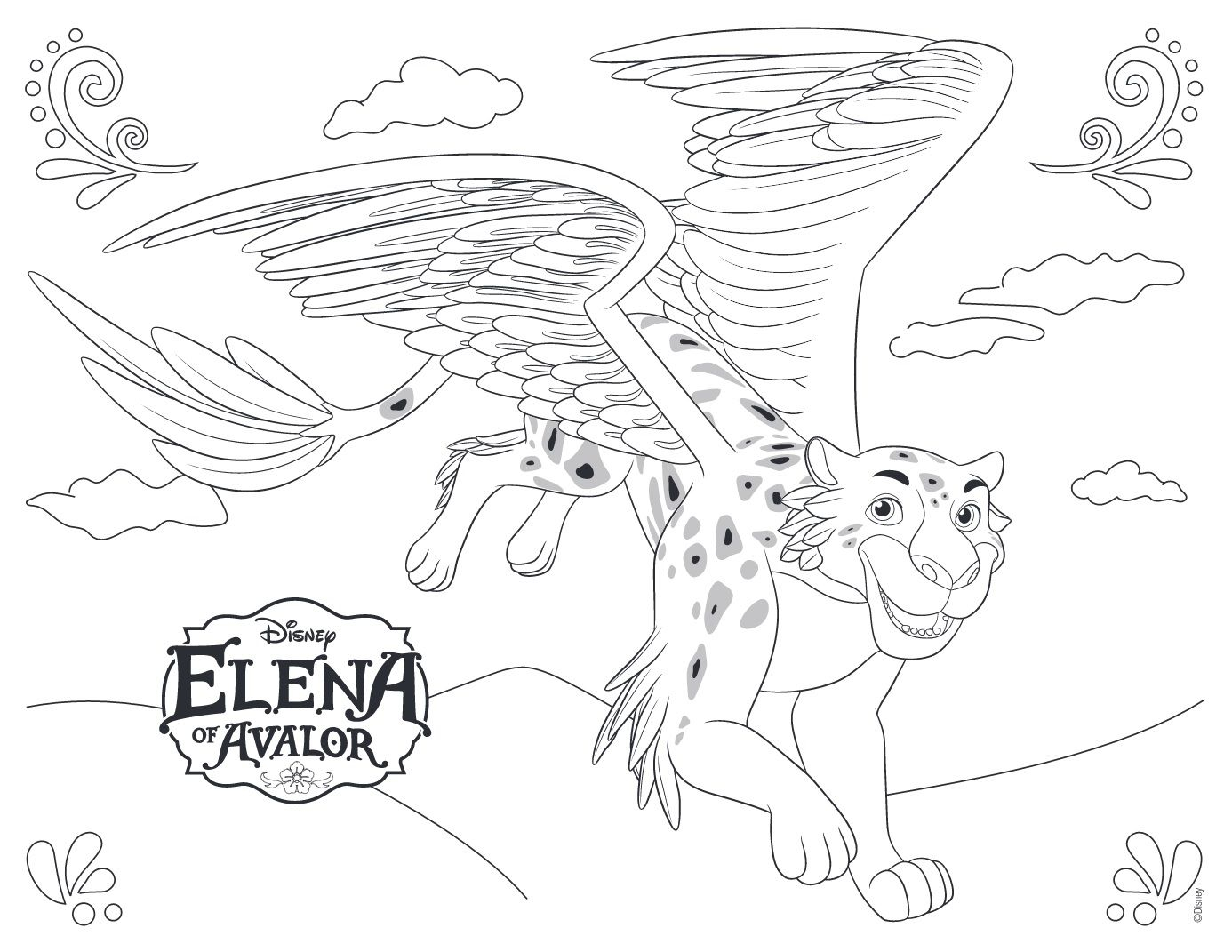 elena of avalor coloring pages to print Collection-Elena of Avalor Disney Coloring Pages 13-d