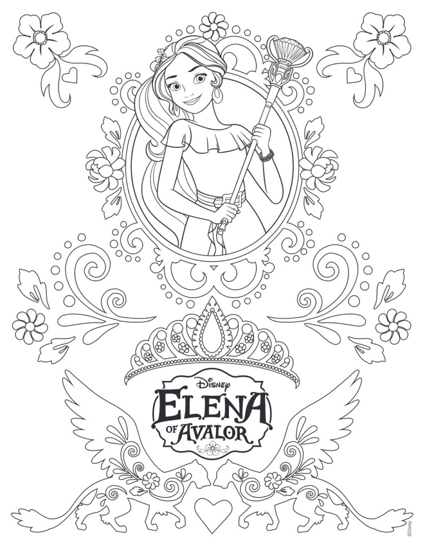 elena of avalor coloring pages to print Collection-Best of princess elena coloring pages Download 10 m Printable Princess Elena Avalor Coloring 4-r