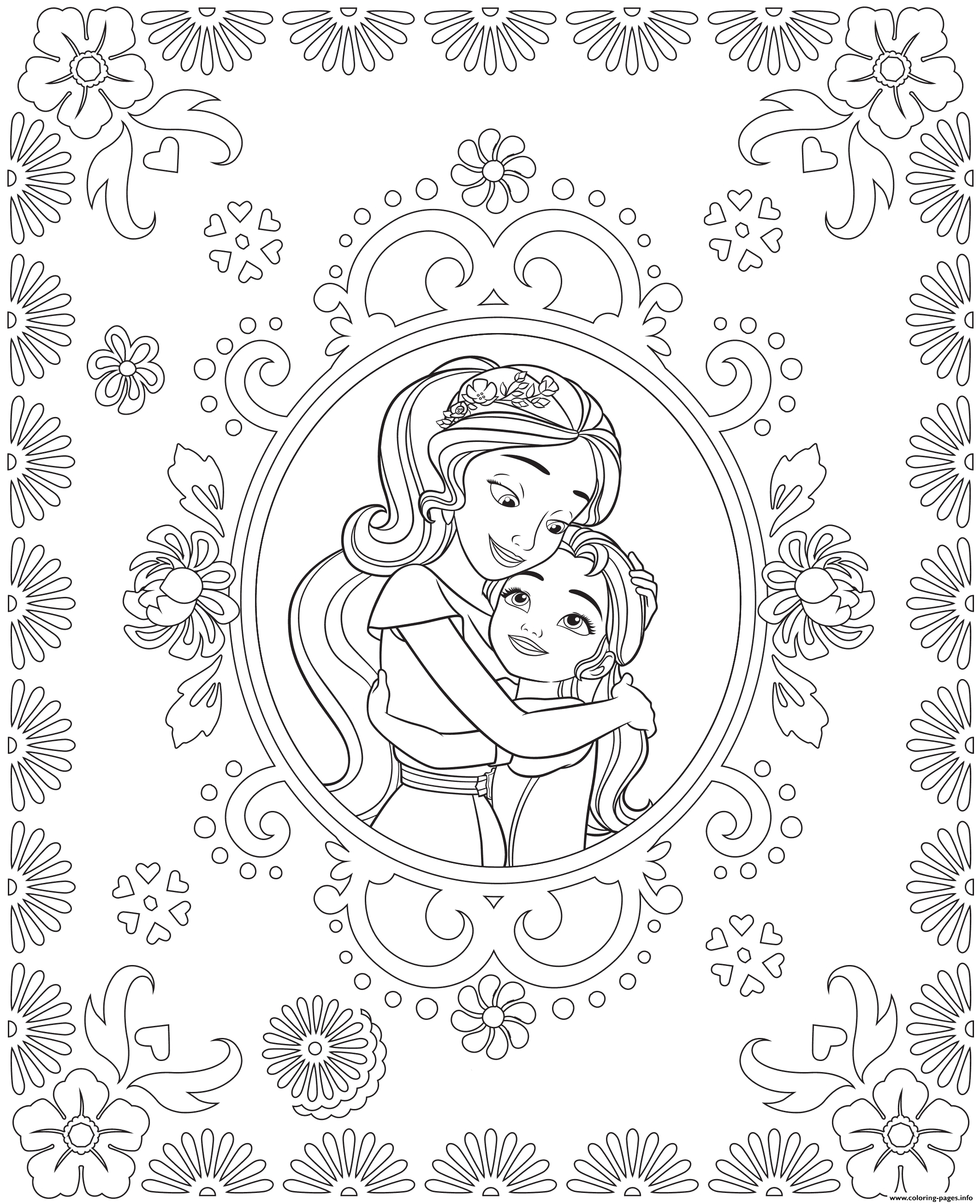 elena of avalor coloring pages to print Download-Coloring Sheets Detail 5-t