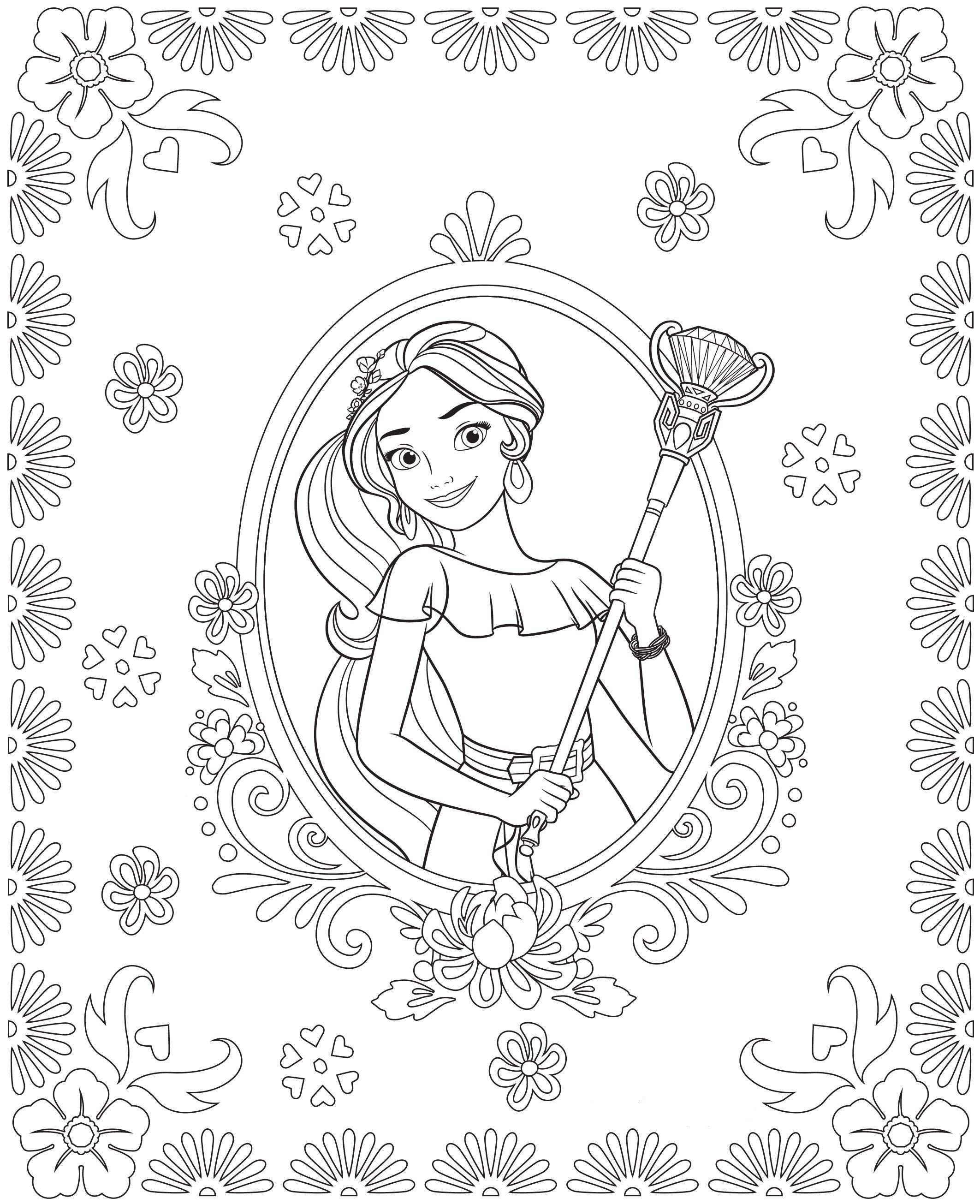 elena of avalor coloring pages to print Collection-28 Schön Ausmalbilder Elena Von Avalor 3-i