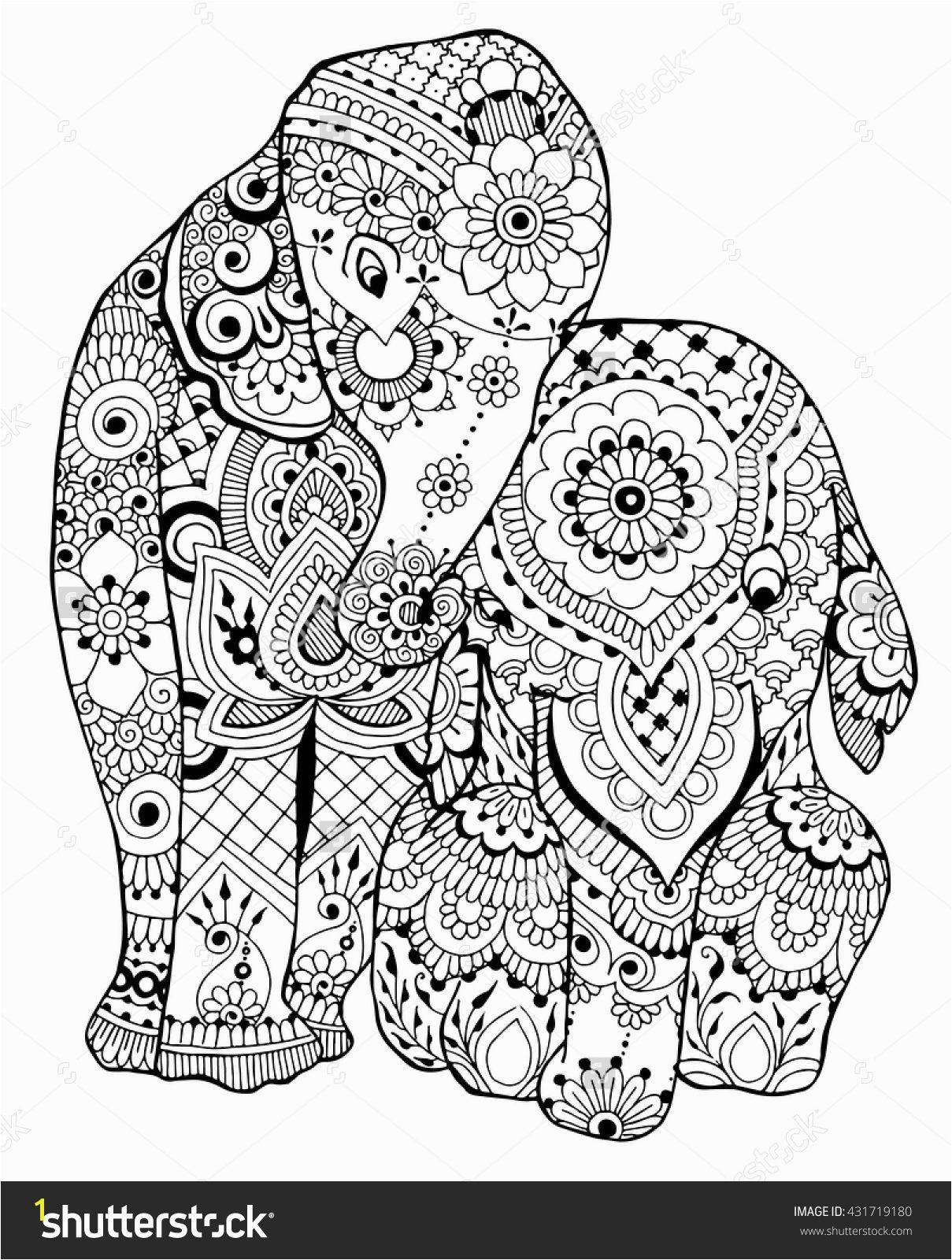 23 Elephant Mandala Coloring Pages Download - Coloring Sheets