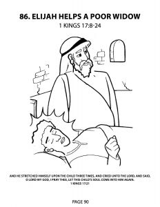 Elijah Bible Coloring Pages - Elisha and Widow S Oil Coloring Page Bltidm 4k