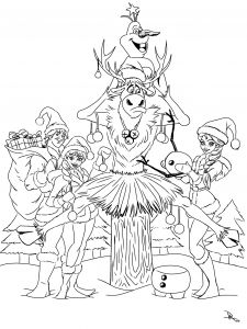 Elsa Coloring Pages - New Frozen Coloring Pages Awesome Elsa Coloring Pages for Christmas Christmas Coloring Pages New Frozen 9s