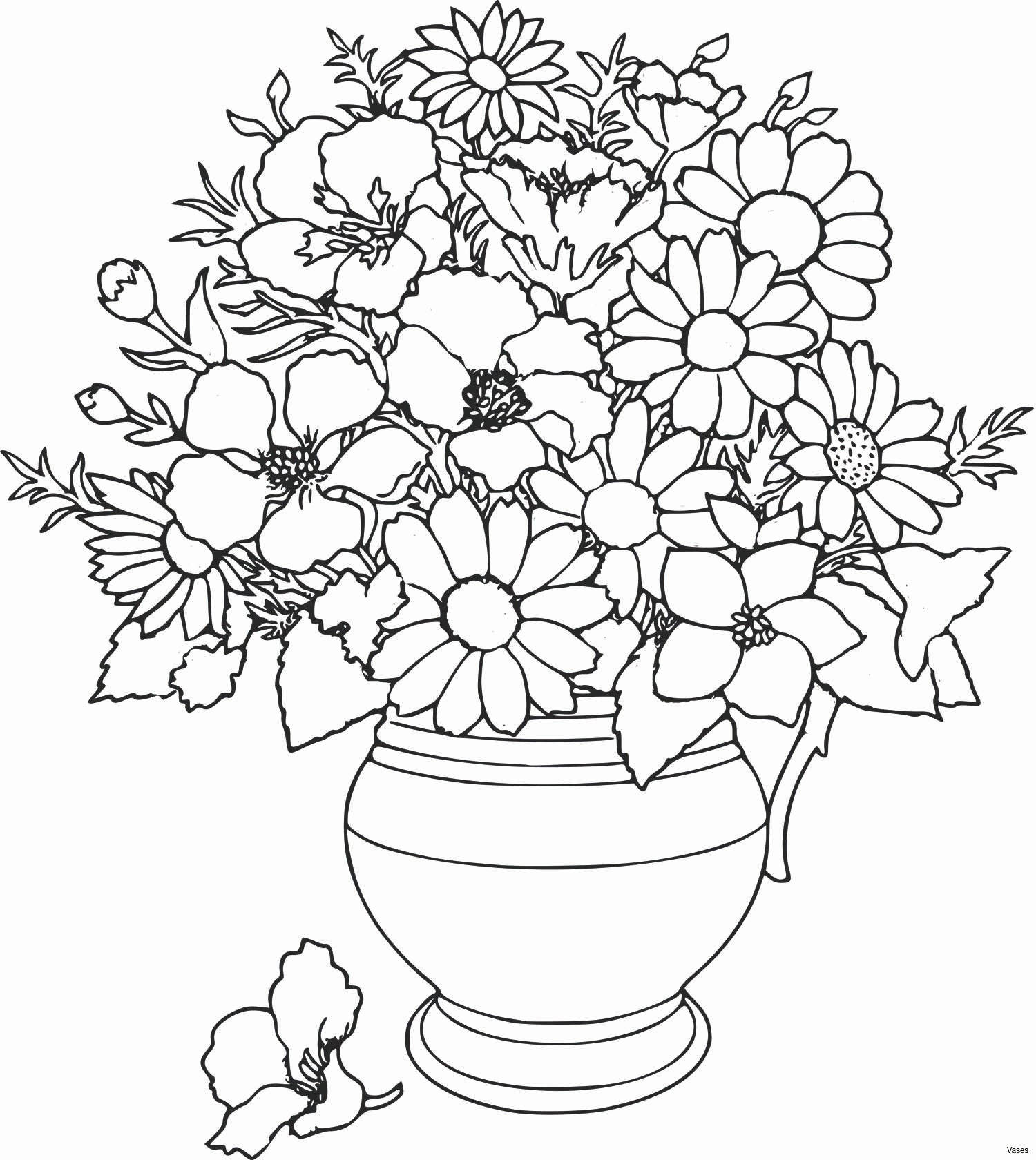 fall flowers coloring pages Collection-Stock Flower Best Best Coloring Page Adult Od Kids Simple Stock Vector – Fun Time 16-l