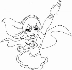 Female Superhero Coloring Pages - Superhero Coloring Pages for Preschoolers Free Printable Superhero Coloring Pages for Kids Free Printable 1f