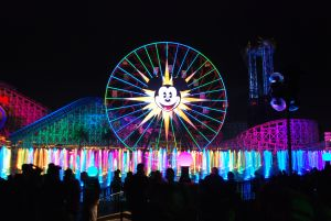 Ferris Wheel Coloring Pages - World Of Color Overview 11k