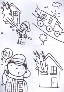 Fire Safety Coloring Pages - Nursery Worksheets Fireman Crafts Preschool Fire Safety Summer School Pre School 3f