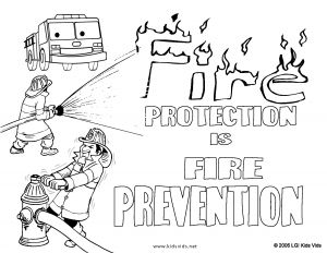 Fire Safety Coloring Pages - Fire Department Coloring Pages Fire Safety Coloring Pages Unique Fire Prevention Coloring Pages and 8q