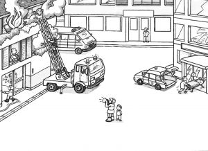 Fire Safety Coloring Pages - Ambulance Fire Truck Coloring Page Coloring Pages for All Ages 17e