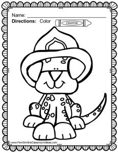 Fire Safety Coloring Pages - Clever Design Free Printable Safety Coloring Pages Letter F is for Fire Truck Page at 3m