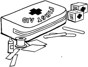 First Aid Coloring Pages - Coloring Page 10q