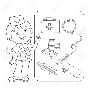 First Aid Coloring Pages - Kite Coloring Pages Best Unique First Aid Coloring Sheet Collection 20o
