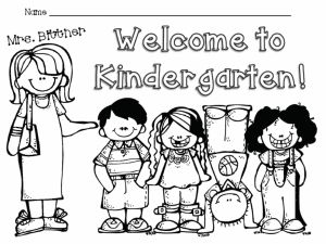 First Day Of School Coloring Pages - Kindergarten Coloring Worksheets Worksheetintable Free Learning New First Day School Pages for 15f