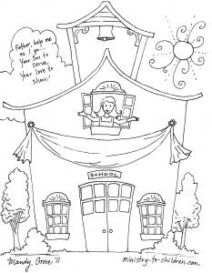 First Day Of School Coloring Pages - School House Coloring Pages First Day School Coloring Pages for Kindergarten Unique School 16f