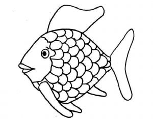 Fish Coloring Pages Pdf - the Rainbow Fish Coloring Page 12t