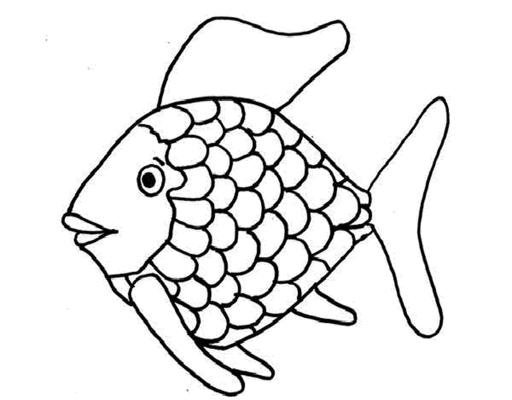 fish coloring pages pdf Download-The Rainbow Fish Coloring Page 10-q