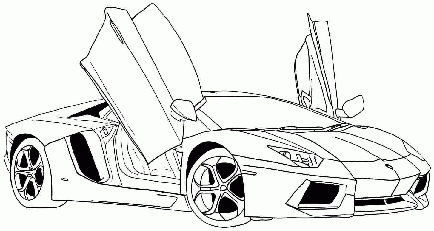 Ford Gt Coloring Pages Best Image Coloring Page