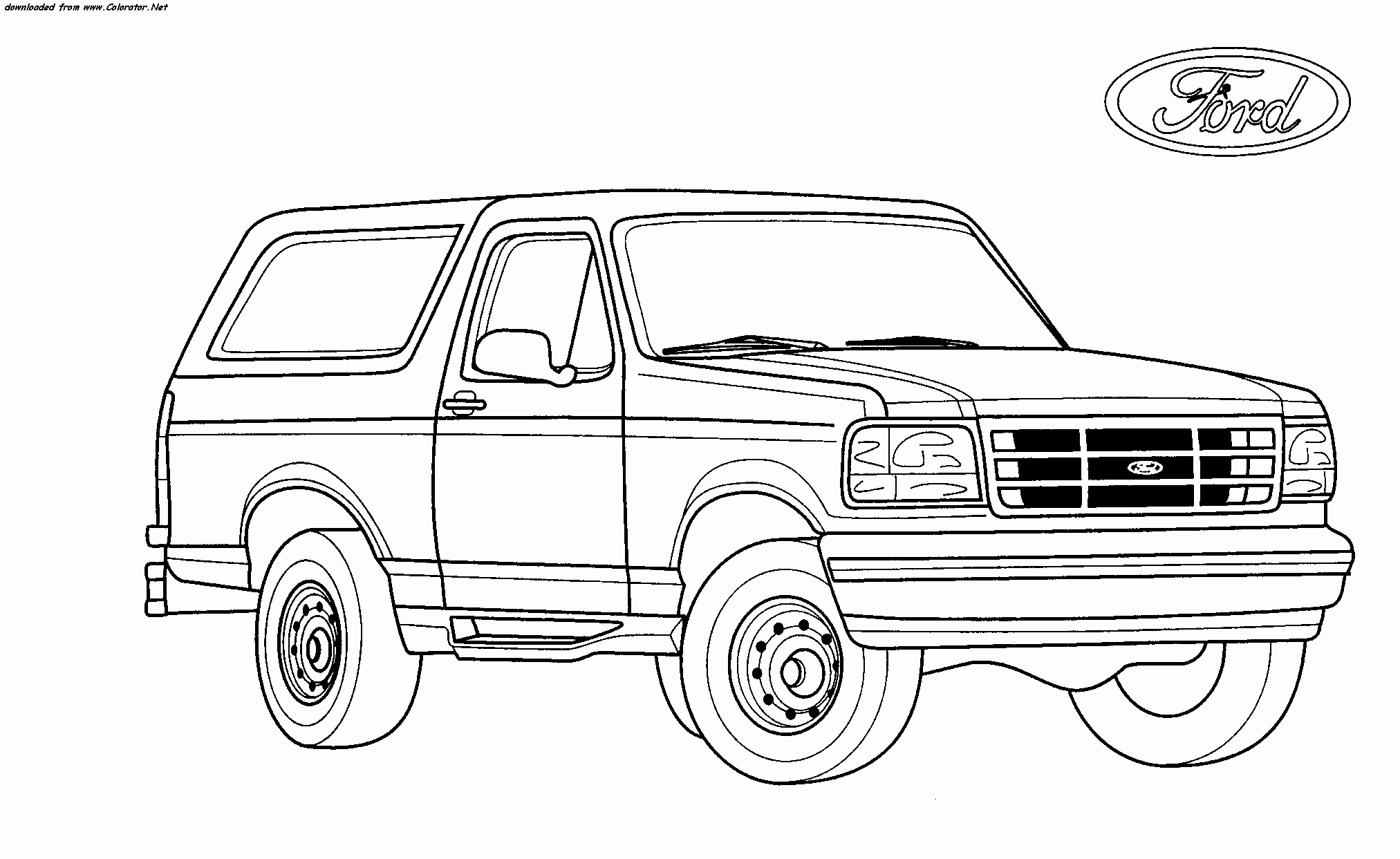 ford truck coloring pages Download-Ford Truck Coloring Pages Fresh Free ford Truck Coloring Pages ford F150 Coloring Pages 5-g