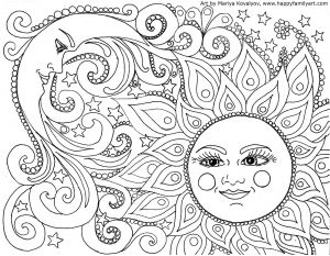 Frecklebox Coloring Pages - Mandala Coloring Pages 1k