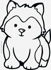 Free Animal Coloring Pages for Kids - Free Animal Coloring Pages Printable Picture Coloring Lovable Animal Coloring Pages Elegant Husky Free Animal 7g