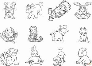 Free Baby Animal Coloring Pages - Baby Animal Coloring Pages Unique Best Cute Baby Animal Coloring Pages Elegant New Od Dog Coloring 16t