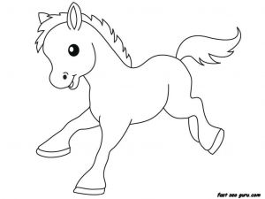 Free Baby Animal Coloring Pages - Baby Farm Animal Coloring Pages 18l