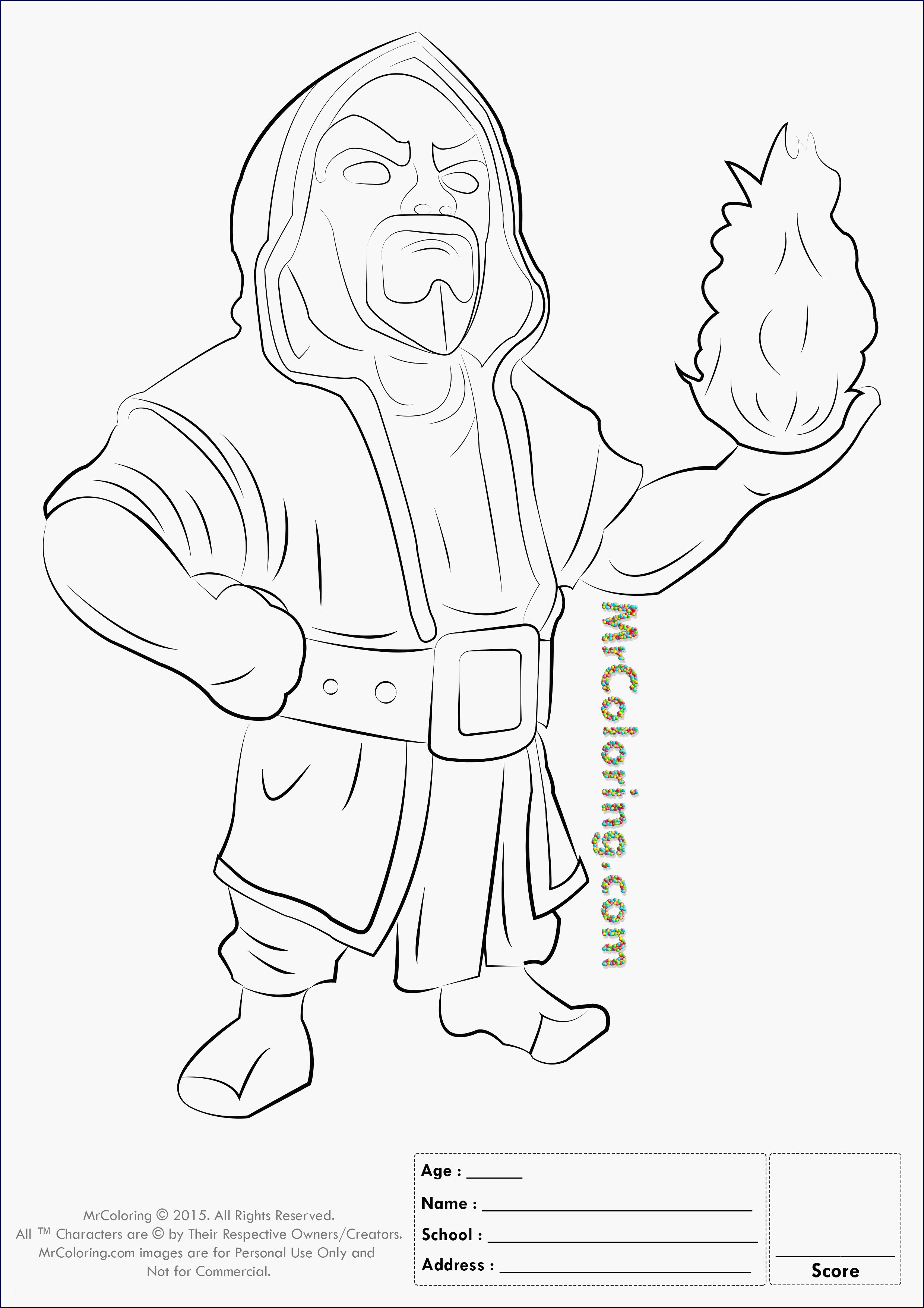 25 free clash of clans coloring pages gallery  coloring