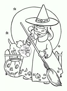Free Coloring Pages for Halloween - Halloween Coloring Pages for Boys Free Cool Coloring Page Unique Witch Pages New Crayola 0d Best 7s