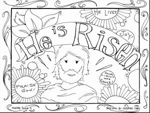 Free Coloring Pages for Sunday School - Jesus is Risen Coloring Pages 27n He Page Lovely Easter for Sunday School Fancy with 20e