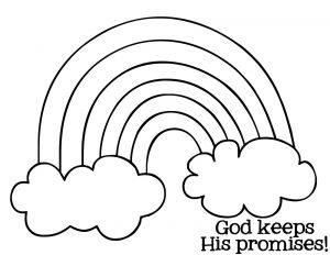 Free Coloring Pages for Sunday School - Free Rainbow Bible Lesson Activity Mysunwillshine 7e