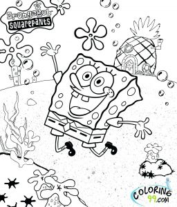 Free Coloring Pages Nickelodeon - Spongebob Coloring Pages to Print Elegant Good Looking Coloring Books for Pretty Book Prepossessing Printable 13b