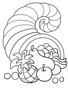 Free Cornucopia Coloring Pages - Best Of Cornocopia Coloring Sheet Free 19a Thanksgiving Cornucopia Coloring Page 10e