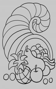 Free Cornucopia Coloring Pages - Free Thanksgiving Cornucopia Coloring Page Jump Start Thanksgiving with This Cornucopia Coloring Page 5f