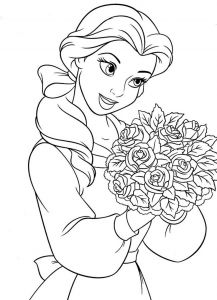 Free Disney Princess Coloring Pages - Princess Coloring Pages for Girls Free 1p
