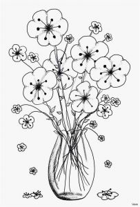 Free Dog Coloring Pages - Free Cool Vases Flower Vase Coloring Page Pages Flowers In A top I 0d Dog Coloring 17g
