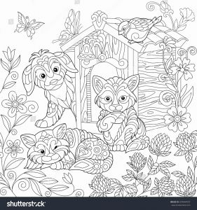 Free Dog Coloring Pages - Fresh Full Page Printable Coloring Pages Elegant Best Od Dog Coloring 20k