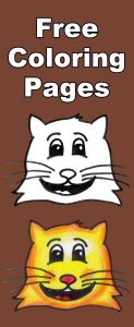 Free Emoji Coloring Pages - Download This Free Tabby Cat Emoji Coloring Page for Kids then Follow Along as We Show You How to Color It In 16a