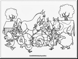 Free Farm Animals Coloring Pages - New Animal Coloring Pages for Kids Awesome Farm Animal Coloring Pages 9s