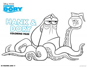 Free Finding Dory Coloring Pages - Free Finding Dory Coloring Pages 21csb 4f